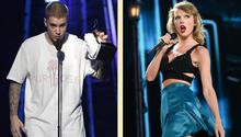 Sängerin Taylor Swift attackiert Justin Biebers Manager