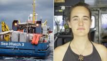 Carola Rackete ist die Kapitänin der Sea Watch 3