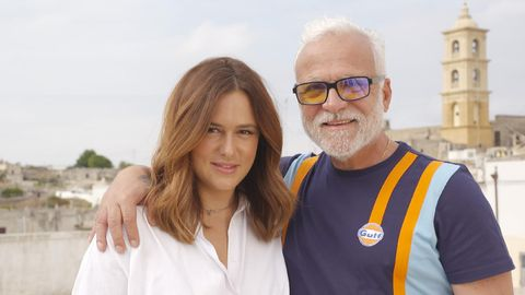 Lou Beyer und ihr Vater Nino de Angelo