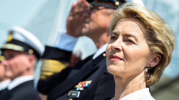 Ursula von der Leyen ist als EU-Kommissionschefin im Gespräch