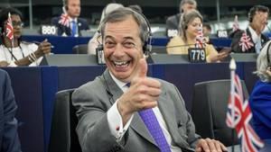 Nigel farage im EU-Parlament