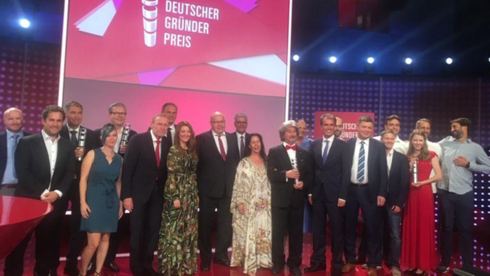 Deutscher Gründerpreis - die Gewinner
