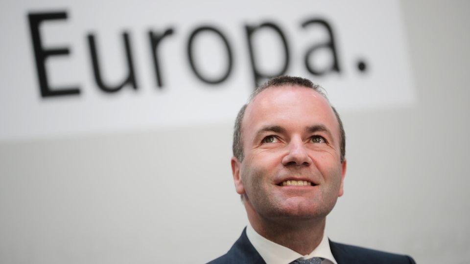 CSU-Mann Manfred Weber wollte EU-Kommissionschef werden und musste seine Ambitionen letztlich begraben