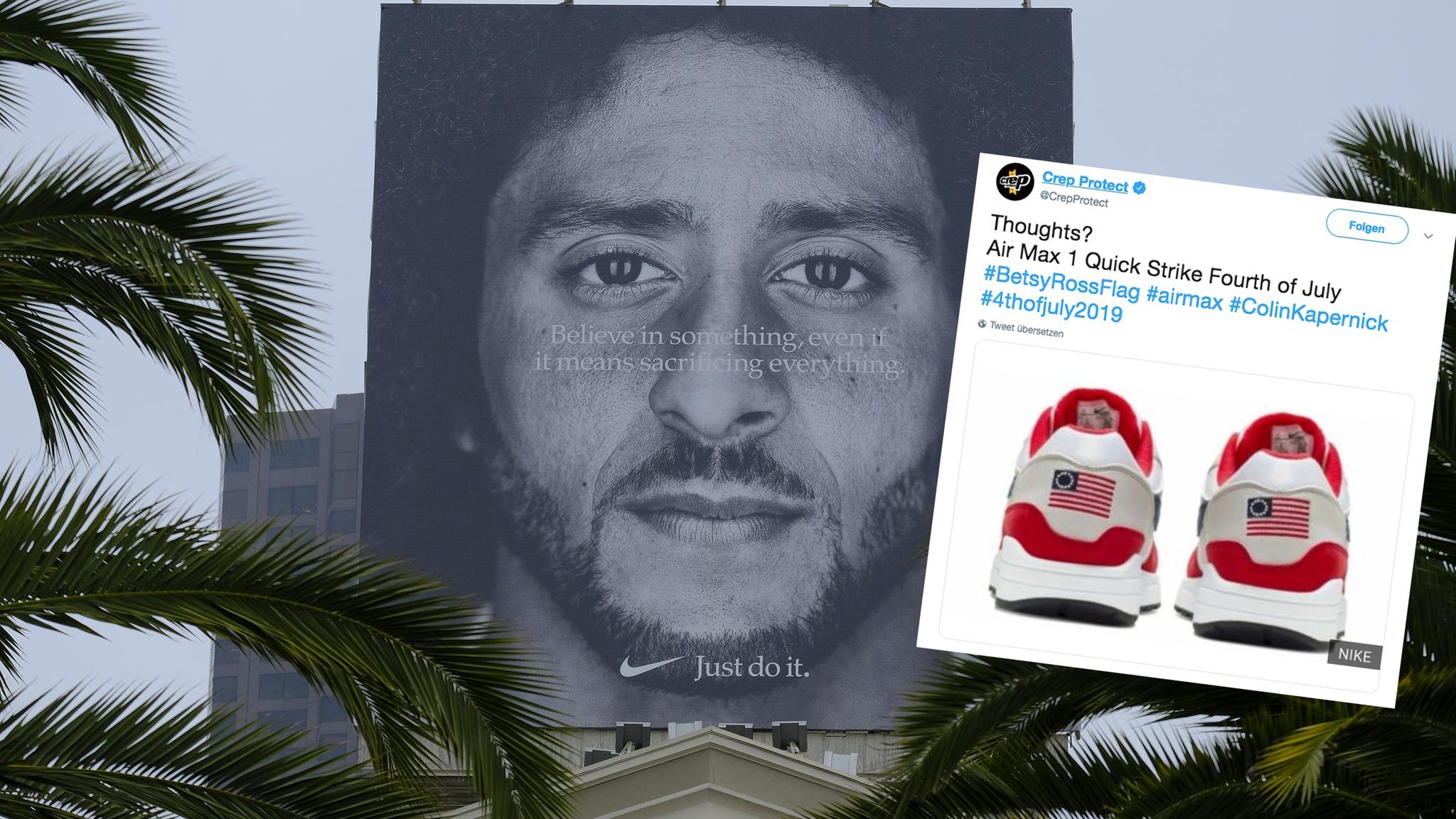 – zieht Ferse Nike Turnschuh der wegen der zurück Flagge auf zVSMqUpG