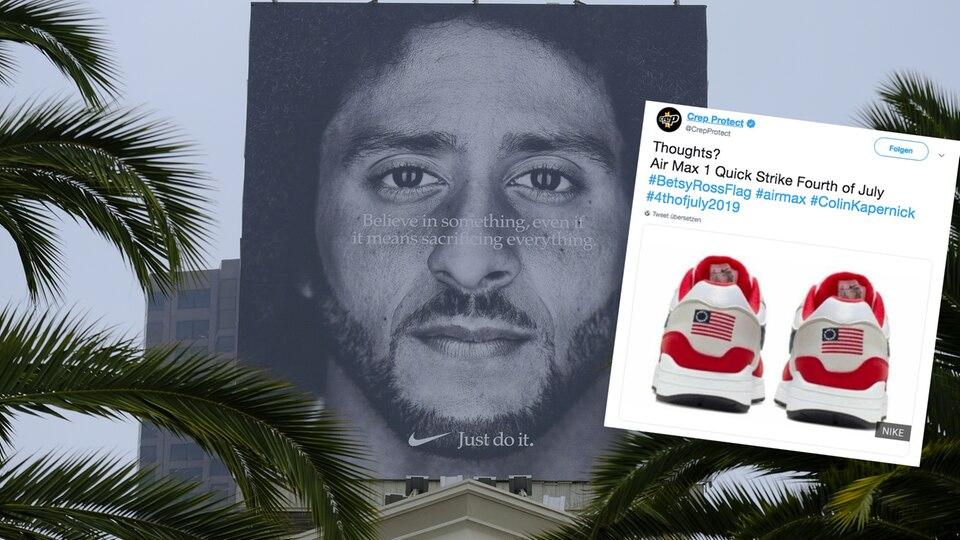 Nike stoppt Verkauf von Schuh wegen Rassismus-Vorwürfen und Collin Kaepernick