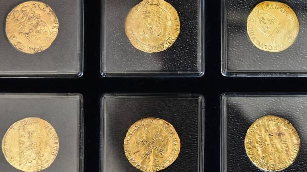 nachrichten deutschland - goldmünzen frankfurt oder