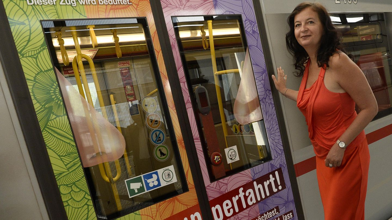 Das U-Bahnfahren soll in Wien im Juli testweise zum Dufterlebnis werden