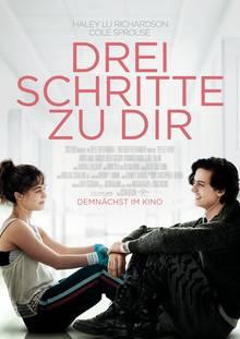 """Filmplakat des Kinofilms über Mukoviszidose: """"Drei Schritte zu dir"""""""