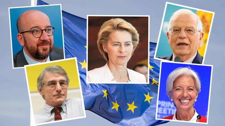Wer sind die eigentlich? Diese fünf Köpfe sollen über die Geschicke der EU entscheiden