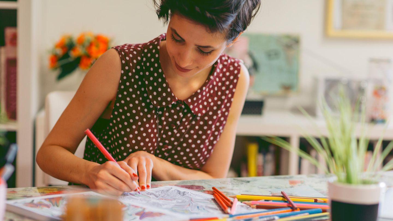 Mit Malbüchern für Erwachsene lassen sich Alltag und Stress vergessen