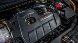 Der Vierzylinder Turbo-Benziner stammt vom Mustang