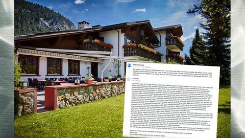 Die Gäste im Schweizer Hotel Belfort waren unzufrieden mit dem Restaurant und verteilten eine Ein-Sterne-Bewertung auf Facebook. Darauf attackierten sich der Wirt und sein Gast öffentlich im Netz.