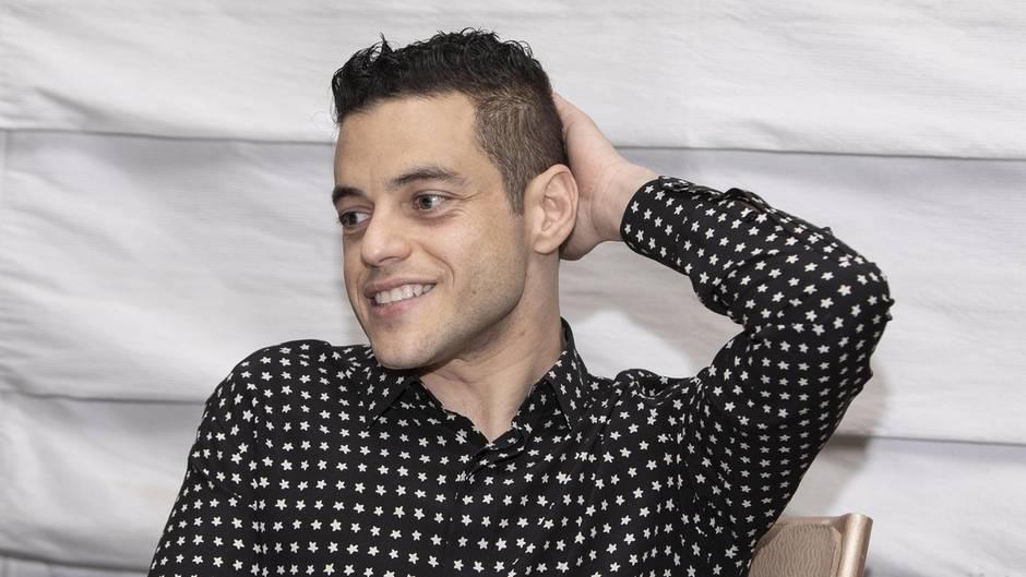 """Schauspieler Rami Malek, der für seine Rolle als Freddie Mercury den Oscar erhielt, spielt den Bösewicht im neuen """"Bond"""""""