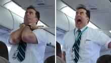 Flugbegleiter eskaliert bei Sicherheitseinweisung