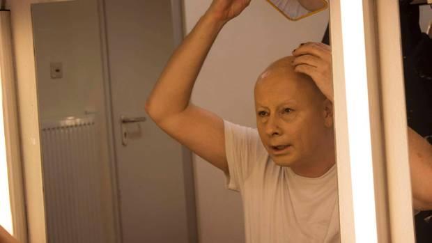 Andreas Schmidt in der Maske
