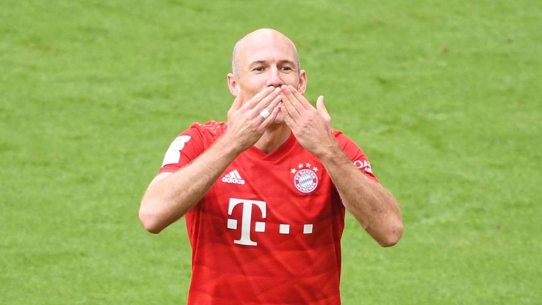 """Arjen Robben: """"Ich höre definitiv auf, aber das ist gut so."""""""