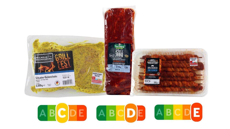 Nutri-Score: Grillfleisch im Gesundheitscheck von Foodwatch