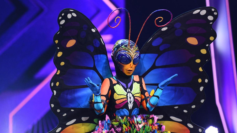 Das bunte Schmetterlingskostüm musste am Ende gehen