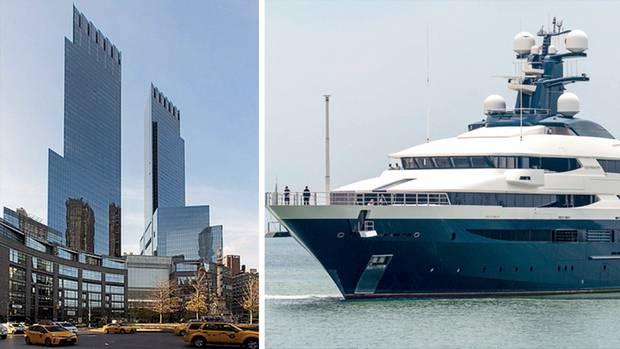 Nach Auffliegen des Milliardenbetrugs wurden Lows Yacht und sein Penthouse im Time-Warner-Gebäude in New Yorkbeschlagnahmt