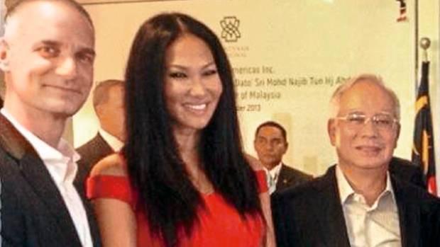 Leissners Weg führte in allerhöchste Kreise in Malaysia (Foto:mit Premier Najib Razak)