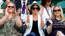 Herzogin Meghan in Wimbledon