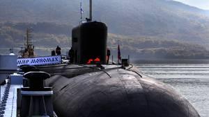 """Die """"Losharik"""" unterscheidet sich von U-Booten wie """"Vladimir Monomakh"""" (Foto) - sie hat zum Beispiel keine Bewaffnung."""