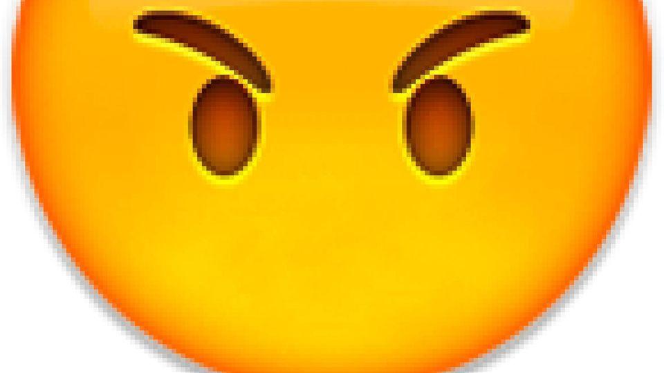 Böses Emoji