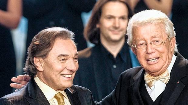Weil es so schön war, trat Karel Gott 2007 noch einmal mit Dieter Thomas Heck im ZDF auf