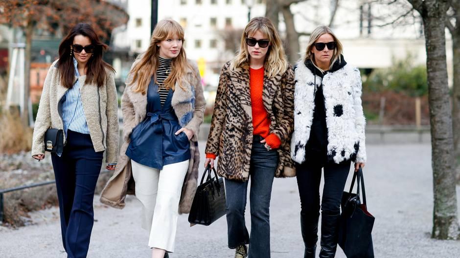 Frauen auf der Straße