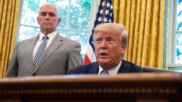 Gute Nachrichten für Donald Trump und Mike Pence - sie können mit ein paar Millionen für den Wahlkampf rechnen