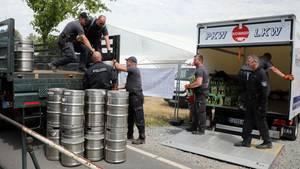 Themar - Rechtsrock-Festival - Bier - Protest
