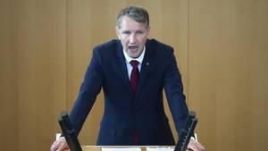 """Björn Höcke sieht Deutschland auf dem Weg in die """"Wohlfühldiktatur"""" (Archivbild)"""
