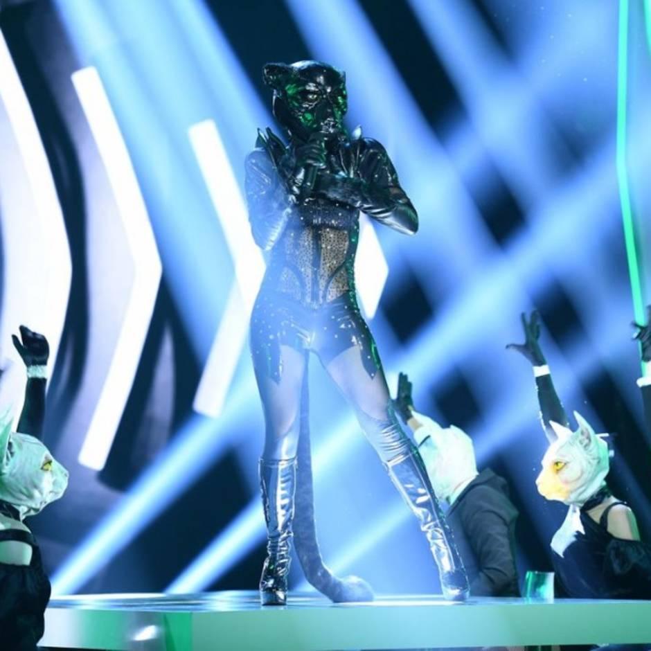 """ProSieben-Show """"The Masked Singer"""": Fans hoffen auf ersten """"echten"""" Promi: Steckt diese Schauspielerin in dem Panther-Kostüm?"""