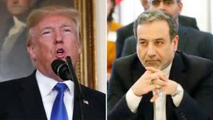 Donald Trump und Abbas Araqchi