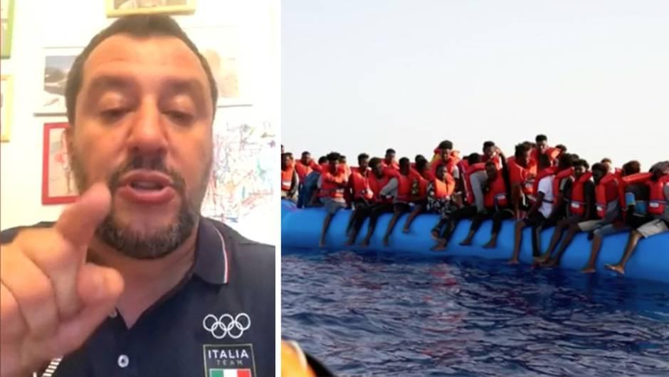 "Salvini weist Seehofer bei Flüchtlingsrettung ab – Italien sei keine ""Müllhalde"""