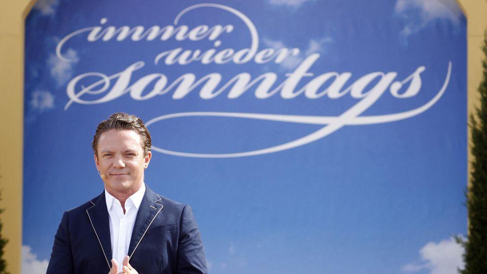 "Stefan Mross hat sich bei seiner Sendung ""Immer wieder sonntags"" blamiert"