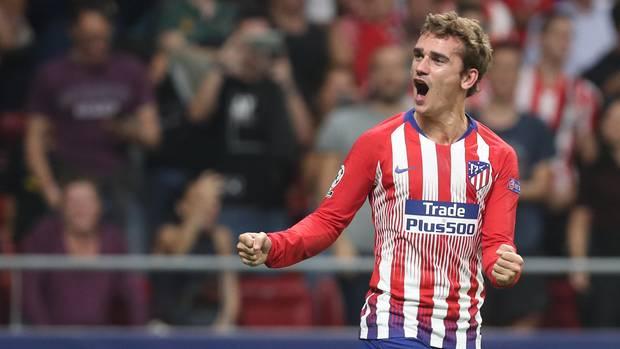 Antoine Griezmann von Atlético Madrid ist sich seit Monaten mit dem FC Barcelona einig, jetzt gibt es Zoff ums liebe Geld