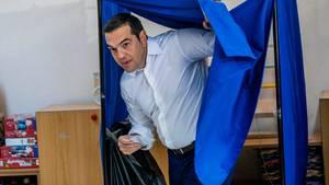 Alexis Tsipras mussnach vier Jahren an der Macht wohl wieder abtreten