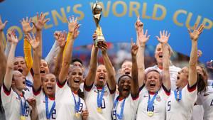 Die unangefochtene Nummer eins: Die US-Frauen haben sich den Titel zum vierten Mal gesichert