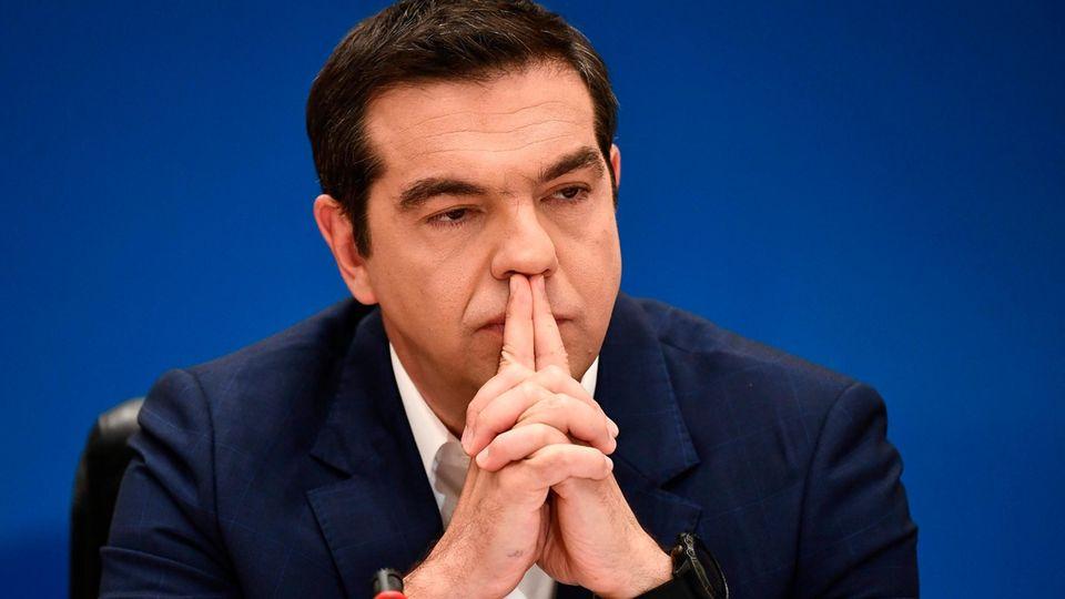 Parlamentswahlen Griechenland - Alexis Tsipras