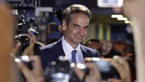 Kyriakos Mitsotakis, Präsident der konservativen Partei Nea Dimokratia (ND)