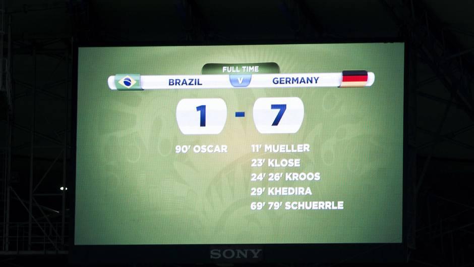Deutschland Brasilien 7 1 Erinnerungen An Das Spiel Vor
