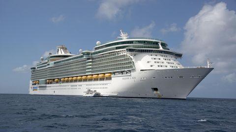 """Die """"Freedom of the Seas"""", eines der größten Kreuzfahrtschiffe der Welt"""