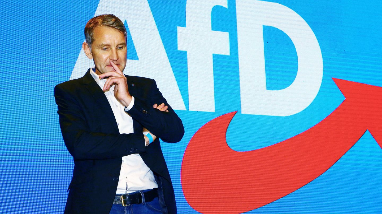 Björn Höcke, AfD-Fraktionsvorsitzender im Thüringer Landtag