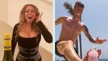 """Mariah Carey und Marco Reus bringen die """"Bottle Cap CHallenge"""" auf eine neue Ebene"""