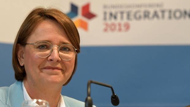 Annette Widmann-Mauz (CDU) ist Staatsministerin für Migration, Flüchtlinge und Integration im Bundeskanzleramt
