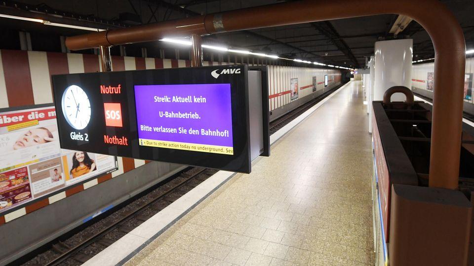 MVG-Streik - München