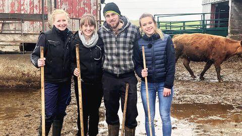 Bauern auf der ganzen Welt suchen ihre Traumfrau