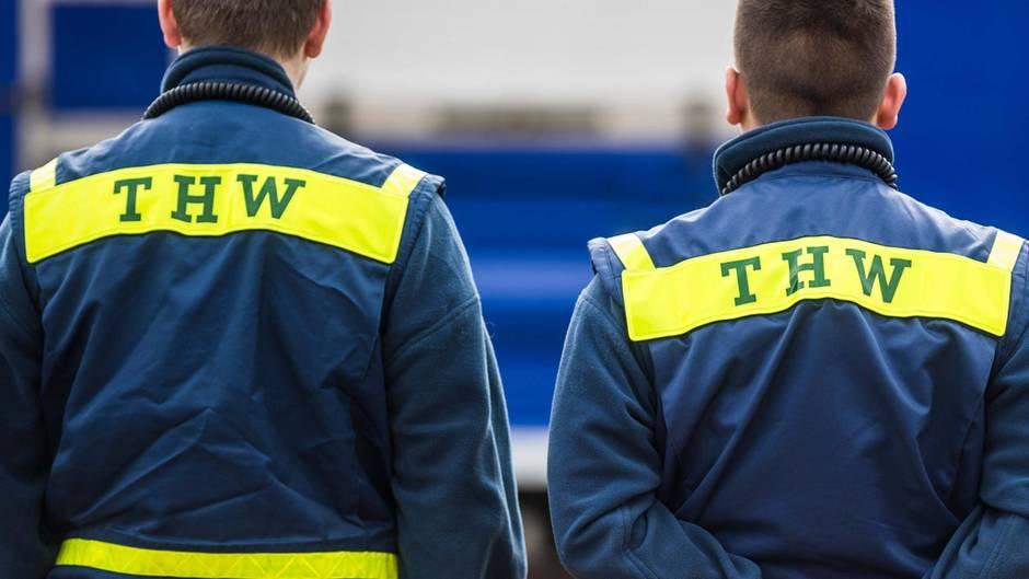 THW-Mitarbeiter