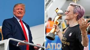Der Streit zwischen US-Fußballerinnen und Trump geht in die nächste Runde